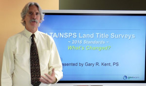 Gary Kent Teaching Land Surveyor PDH at GeoLearn
